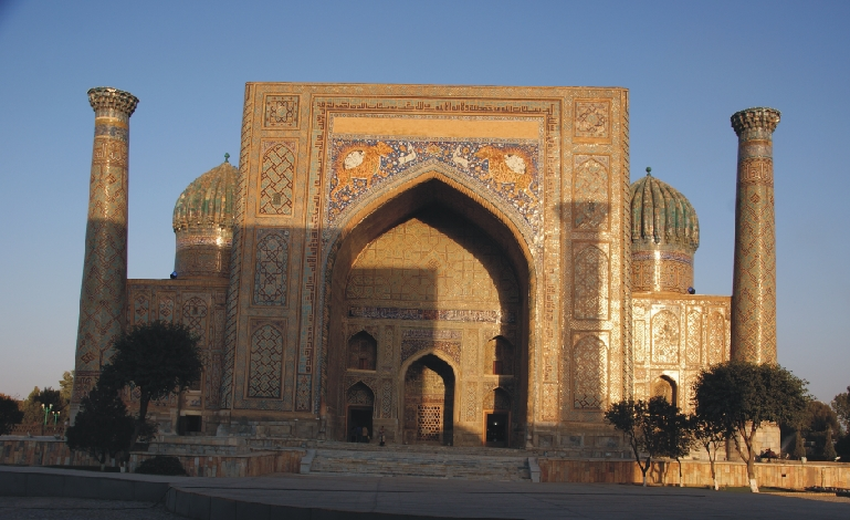 Samarkand: Sherdor Medrese am Registan